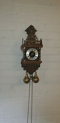 Dutch Warmink Zaanse WUBA Chain Driven Wall Clock