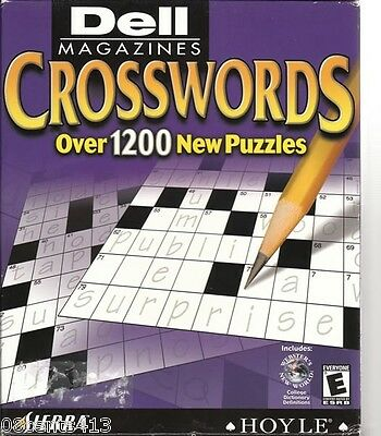 Dell Magazines Crosswords by Hoyle (MAC/PC) Over 1,200 Puzzles to Choose From