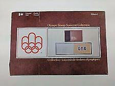 Canada Montreal 1976 Olympic Stamp Souvenir Collection Volume 1  NEW