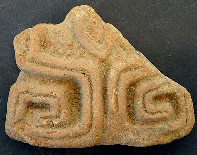 Original PRE-COLUMBIAN Detailed POTTERY / Mexico TOLTEC Mayan INCA Aztec OLMEC