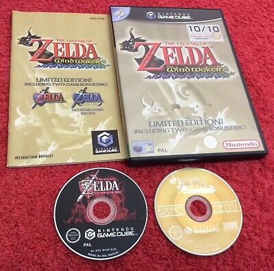 The Legend Of Zelda The Wind Waker Limited Edition Nintendo Gamecube Gc Pal