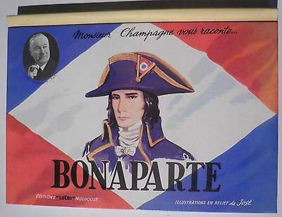 Pop Up Bonaparte Lucos Livre Anime En Relief Dessin Jose