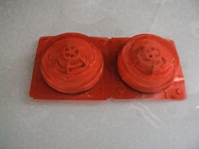 SIMPLEX 4098-9733 FIRE ALARM HEAT DETECTOR HEAD LOT of 2