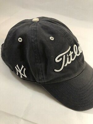 bcdf9465656 Titleist Golf MLB Tour Performance Adjustable Hat - New York Yankees -  MASTERS