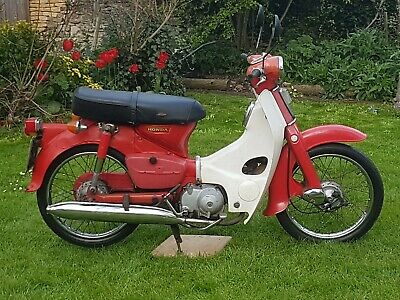Honda C90 1979 round headlight model -  Classic CUB Moped Restoration Project