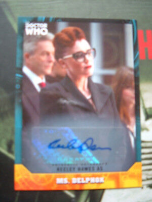 Doctor Who signature series Keeley Hawes as Ms Delphox 53 Autograph Card