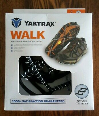 9f4f34881 YAKTRAX WALK TRACTION Cleats for Walking on Snow Ice Size L -  12.99 ...