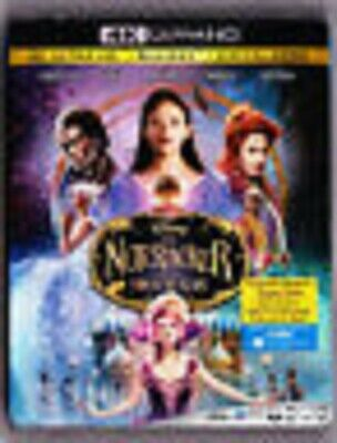 The Nutcracker & the Four Realms (4K UHD COMBO, 2019)new/sealed w/slipCOVER