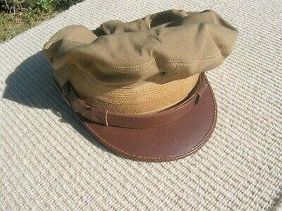 Vintagw WWII ERA or Military Vintage Cap Hat, Military Beat-Up Band Is Seperated