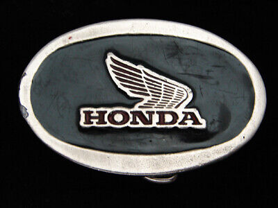 QH03126 VINTAGE 1970s **HONDA** MOTORCYCLE COMPANY ADVERTISEMENT BELT BUCKLE
