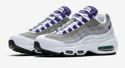 premium selection 741a8 c081d Womens Nike Air Max 95 Trainers  Grape  (UK 6 EU 40)