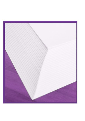 A4 Card And Paper - White