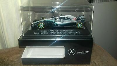 Minichamps 1:43 Mercedes W09 Lewis Hamilton - 2018 World Champ Mercedes Edition