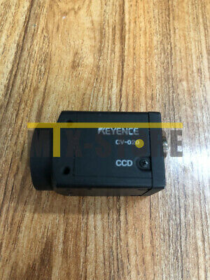 1PCS Used KEYENCE CV-020 CCD CAMERA FOR VISION SYSTEM Tested#RS08