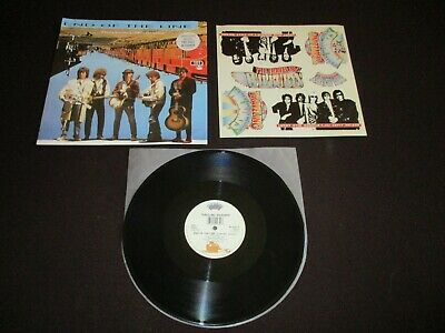 """The Traveling Wilburys - End Of The Line 12"""" - 1989 W 7637 T- With Sticker Sheet"""