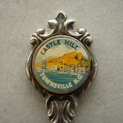 Castle Hill Townsville NQ Stuart Silverplated Souvenir Spoon Teaspoon (T94)