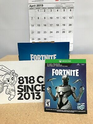 Fortnite Xbox One Econ Cosmetic Set Skin 2000 V Bucks Only No Console