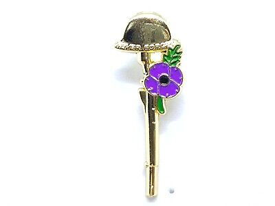 New 2019 WW1 Remembrance Day Remembering Animals of War Poppy Pin Badge Brooch.