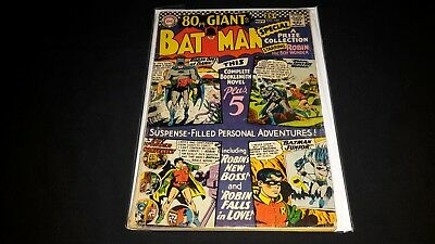 Batman #185 - DC Comics - October 1966 - 1st Print