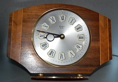 French Mantelpiece 8 day clock - Bentima -  1960s