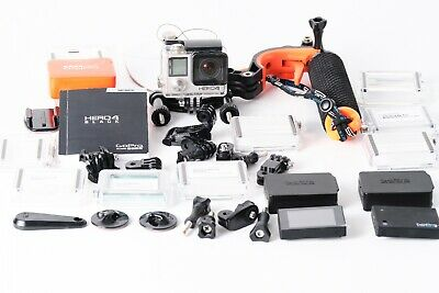 GoPro Hero4 Black Edition Camcorder - good condition with extras