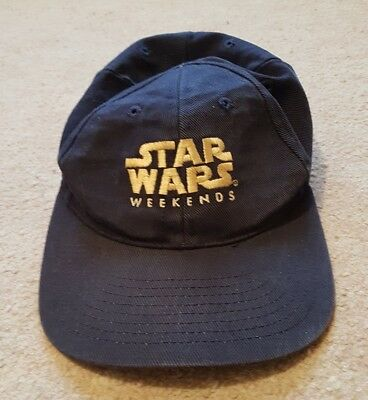 Star Wars Weekends Baseball Cap. Disney. May 2001. One Size. Navy. Rrp £50.