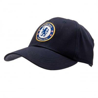 Chelsea FC Adult Baseball Cap Navy - Official Gift