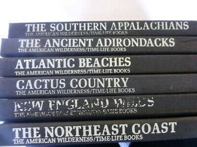 Time Life Books THE AMERICAN WILDERNESS Lot of 6 volumes