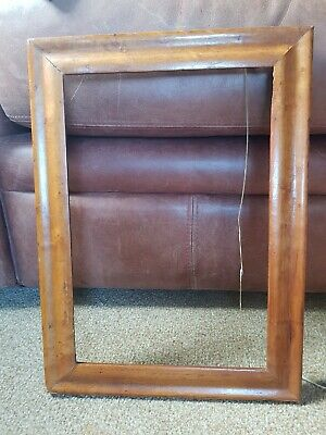 antique small  birds eye maple frame