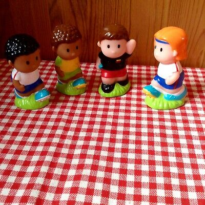 Elc Happyland Football Figures/cake Toppers With Referee