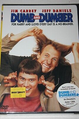 DUMB AND DUMBER DVD comedy JIM CARREY JEFF DANIELS