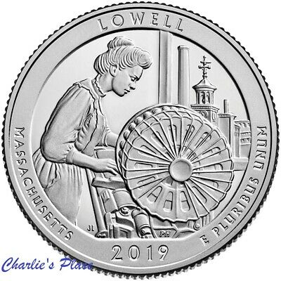 2019-S ATB Lowell Quarter From Silver Proof Set