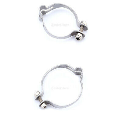FRAME CABLE CLAMP HOLDER 28.6MM STAINLESS STEEL BIKE CYCLE VINTAGE OLD STYLE