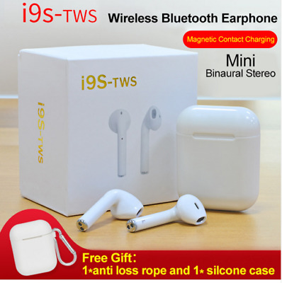 i9S TWS Bluetooth Earpods Earbuds Headphones Latest Version for IOS or Android