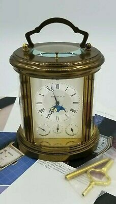 Tiffany & Co. Carriage Repeater Moonphase Regulator Clock Matthew Norman 1781