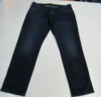 462dc164 Men's Lucky Brand 221 Original Straight Stretch Blue Jeans Size 36x32 : 3478