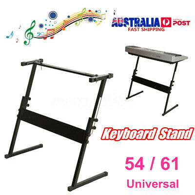 Portable 54/61 Key Z Frame Keyboard Stand Music Piano Holder Height