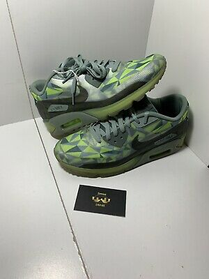 best sneakers 507f3 de411 NIKE AIR MAX 90 ICE Infrared Dark Cool Grey 631748 006 Mens Size ...