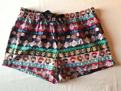 New Peter Alexander Womens Harry Potter Shorts Size Large (L) Rrp$49.95