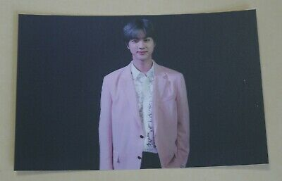 BTS Map of the Soul PERSONA Boy with Luv Official Broadcast PhotoCard JIN