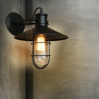 industry Wall Lamp Sconce Vintage Industrial Wall light Indoor And Outdoor US ST