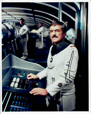 Original Autogramm James Doohan als Scotty aus Star Trek, Foto 20x25cm