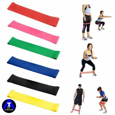 6Pc Resistance Bands Tube Workout Exercise Elastic Band Fitness Equipment Yoga