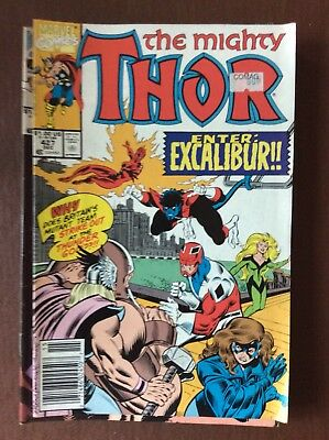 L3 Marvel Comic The Mighty Thor No 427