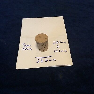 Cork Stoppers Good Quality For Lab Or Craft Use Brand New