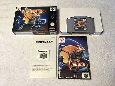 *VGC* Castlevania For The Nintendo 64 Boxed & Complete PAL N64
