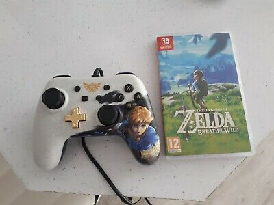 Nintendo The Legend of Zelda: Breath of the Wild Switch Game + Game Controller