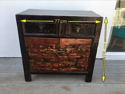 Chinese Lacquered Cabinet / TV Cabinet