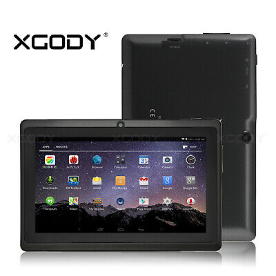 "NEUESTE XGODY Android 8.1 Oreo 7"" IPS 8GB Tablet PC Wlan Quad-core Dual Kamera"
