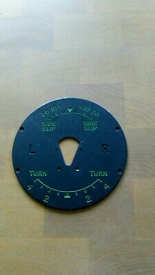 Air Ministry Turn And Slip Dial Face